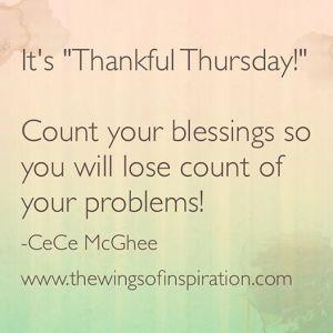 THANKFUL THURSDAY POST-