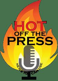 HOT OFF THE PRESS LOGO