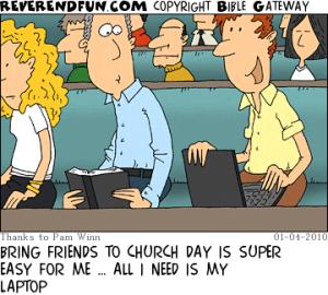 Church friends