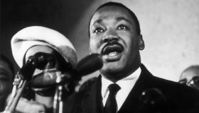 Martin Luther King Jr. Giving A Press Conference 1961-1968
