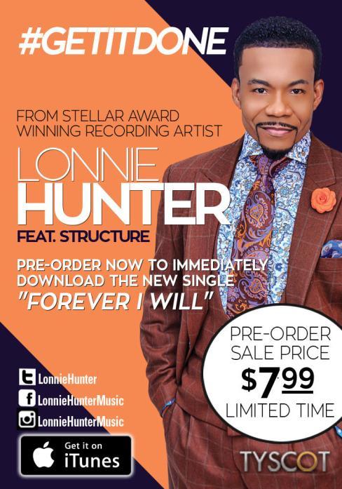 Lonnie Hunter #GetItDone Album
