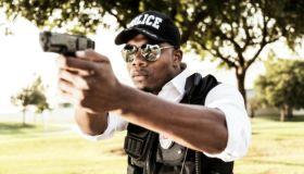 Black Police Officer