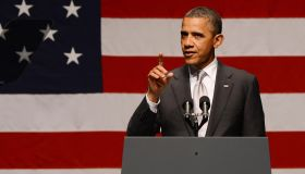 President Barack Obama Attends Victory Fund Event in Miami