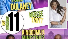 Todd Dulaney Concert Flyer May 11 2016