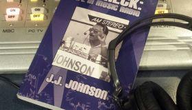 Aircheck Book on Praise 107.9 Console