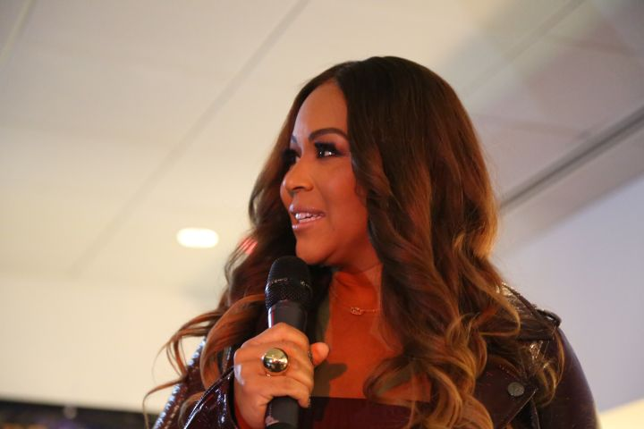 Erica Campbell At Her Mary Mary Screening In Philly