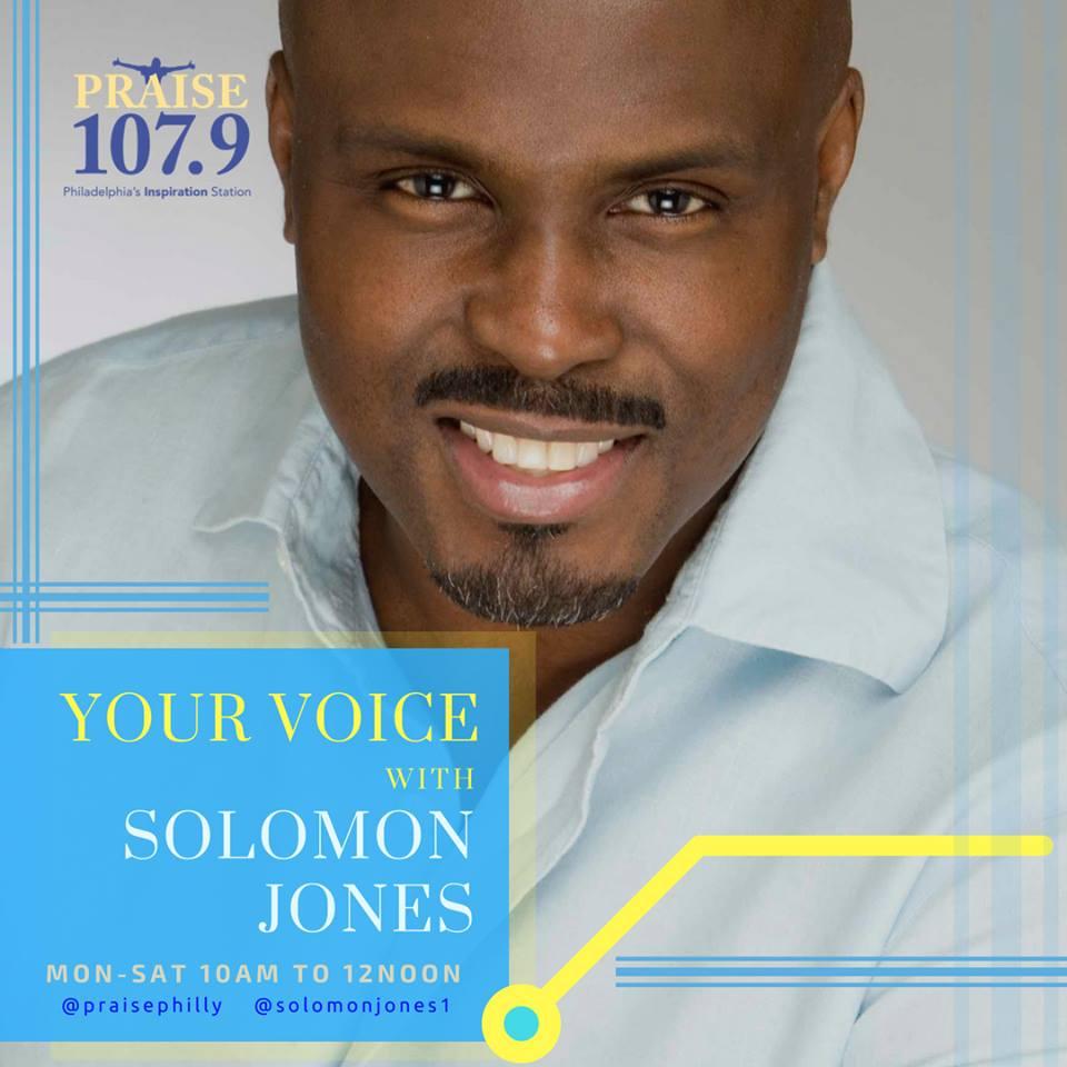 Your Voice with Solomon Jones Promo Shot