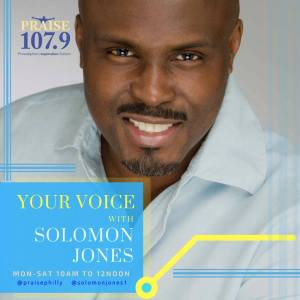 Your Voice with Solomon Jones Promo Shot