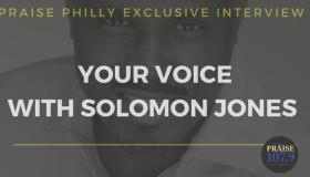 Solomon Jones Interviews