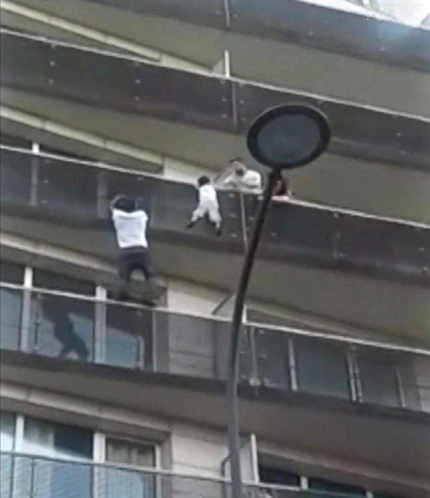 Paris Spiderman hero France citizen