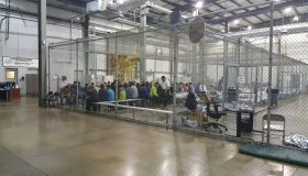 Migrant detention cages