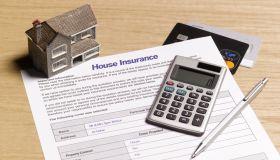 House insurance paperwork
