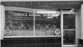 Exterior Of Service Federal Savings And Loan Association