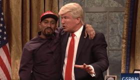 Kanye & Trump SNL parody
