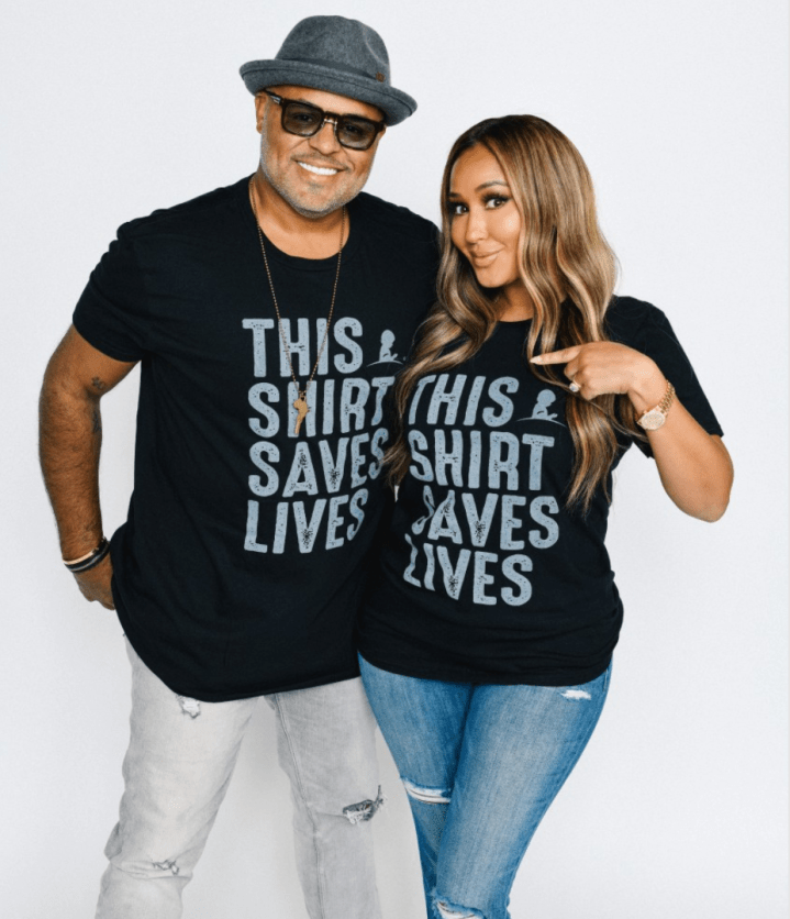 Adrienne and Israel Houghton