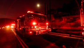 Wildfire Burns In Los Angeles And Glendale California