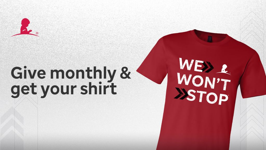 St.Jude Give Monthly & Get your shirt